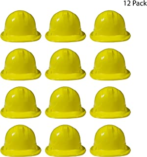 Yellow Construction Hats - 12 Pack …
