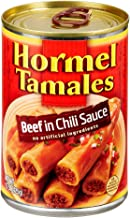 Hormel Beef Tamales, 15 Ounce, Pack of 4