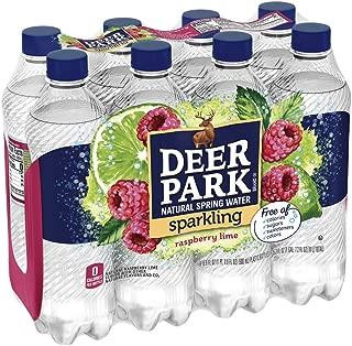 Deer Park Sparkling Water, Raspberry Lime, 16.9 oz. Bottles (8 Pack)