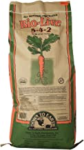Down To Earth All Natural Fertilizers 1924 Fertilizer, 25 lb, Brown/A