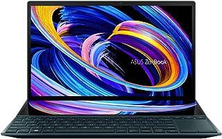 ASUS ZenBook Duo 14 UX482EG-HY004T (Celestial Blue)- 4Core Intel Core i7-1165G7 CPU 2.8 GHz, 16GB RAM, NVIDIA GeForce MX45...