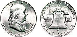 1963 D Franklin Half Dollar $.50 Brilliant Uncirculated