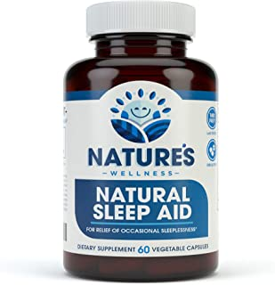Sponsored Ad - Premium Natural Sleep Aid for Adults - Effective Relief - Non Habit Forming - Wake Up Feeling Refreshed - P...
