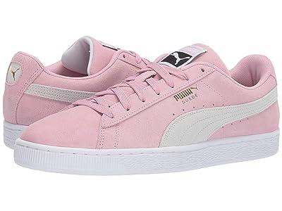 PUMA Suede Classic (Pale Pink/Puma White) Shoes
