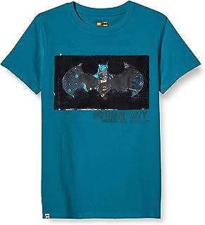LEGO MW-T-Shirt Wendepailletten Batman Camiseta para Niños