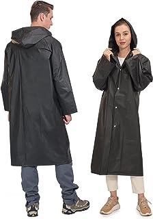 Sponsored Ad - Little Donkey Andy Portable EVA Raincoats for Adults, Reusable Emergency Rain Ponchos with Hood Rain Gear J...