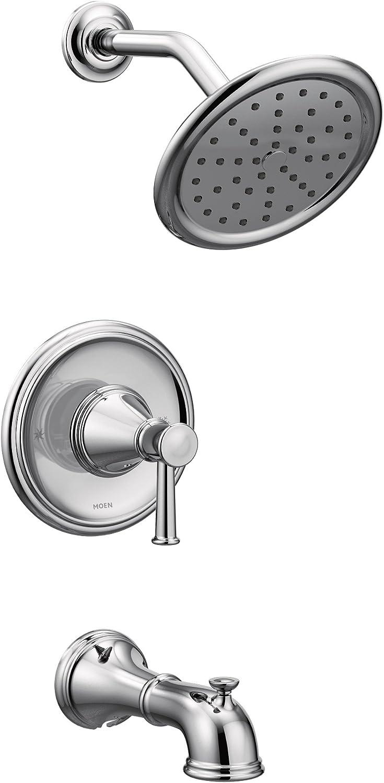 Moen T2313 Belfield T2313 Belfield Posi-Temp Tub Shower Trim Kit without Valve, Chrome