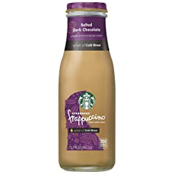 Starbucks Frappuccino Crafted With Cold Brew,  Salted Dark Chocolate, 13.7oz Bottle