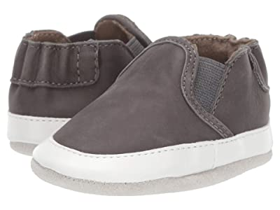 Robeez Liam Soft Sole (Infant/Toddler) (Grey 1) Boys Shoes