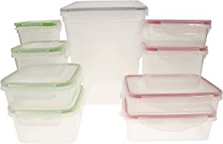 Handi-Ware 18 Piece Food Storage Container Set - Extra Large - Leak Resistant - Snap Lids - BPA Free - Freezer Safe - Dishwasher Safe - Microwave Safe - Durable And Easy To Clean, by Unity