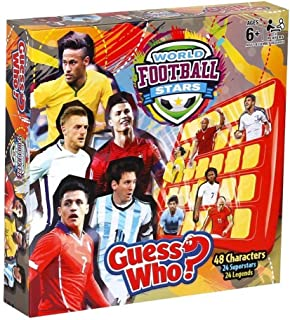 Guess Who World Football Stars Board Game