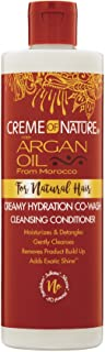 Creme Of Nature Argan Oil Co Wash Cleansing Conditioner - 354ml/12oz