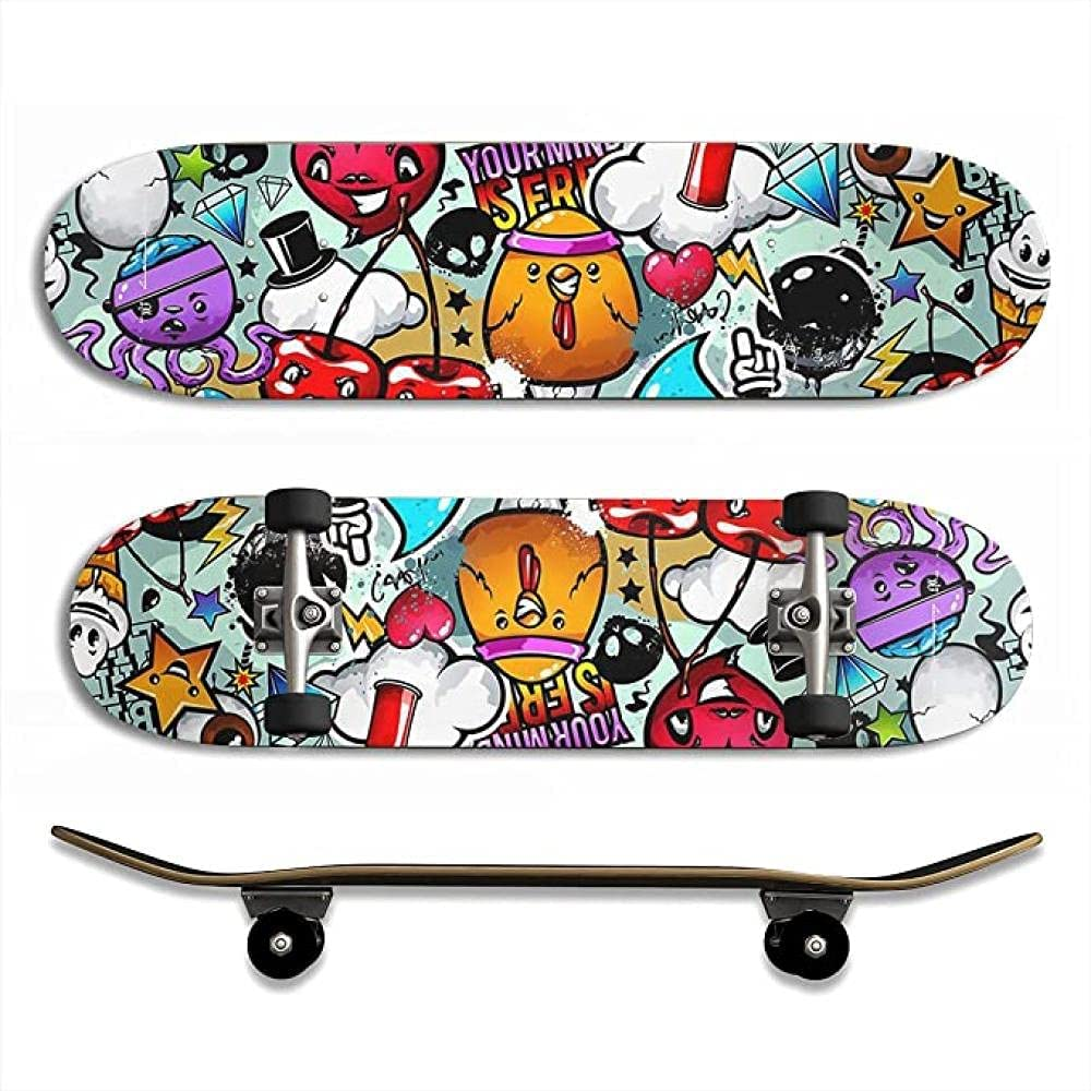 Skateboards Beginners Professionals 318 Kids Adult Inch Industry No. 1 Japan Maker New Complete