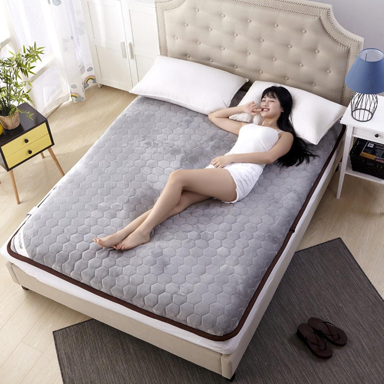 Thick Mattress Mattress Foldable Leisure Bed Mattress Dormitory Sponge Tatami Mat Non-Slip Floor Mat (color   D, Size   90x190cm)