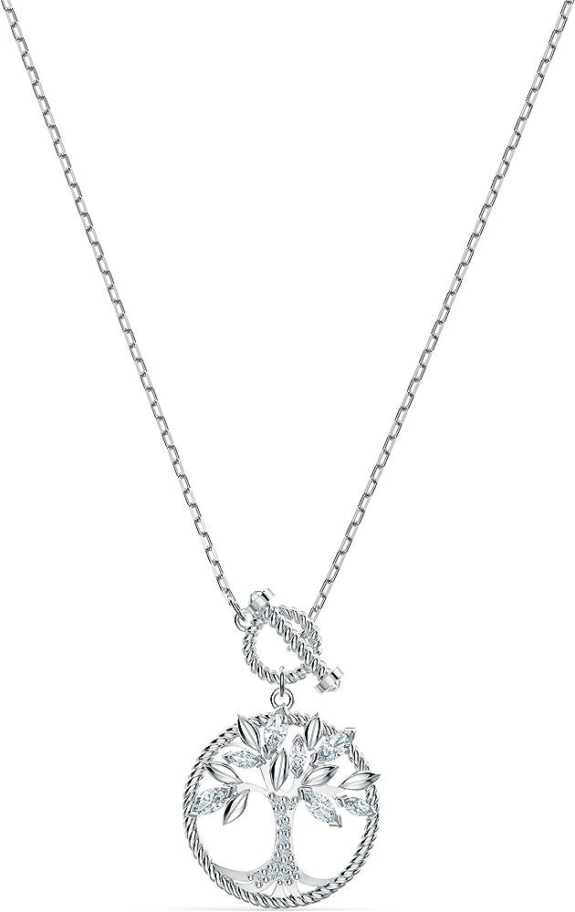 Swarovski collana per donna con pendente symbolic tree of life placcata rodio 5521463