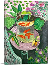 "ARTCANVAS Goldfish 1911 Canvas Art Print by Henri Matisse - 26"" x 18"" (0.75"" Deep)"