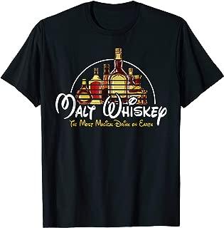 Malt Whiskey T-Shirt Gift For Men Women