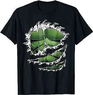 Avengers Hulk Ripped Costume Graphic T-Shirt
