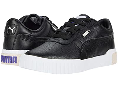 PUMA Kids Cali (Little Kid) (Black/Rosewater/Purple Corallites) Girls Shoes