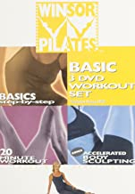 Winsor Pilates Basic 3 DVD Workout Set: (Basics Step-By-Step/20 Minute Workout/Accelerated Body Sculpting)