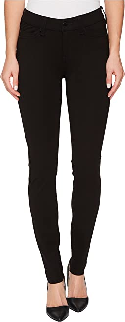 Liverpool - Madonna Five-Pocket Leggings in Silky Soft Ponte Knit in Black