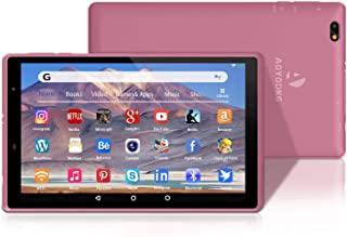 AOYODKG H8 Tablet 8 Pulgadas Android 10.0 Bluetooth + WiFi 3GB RAM 32GB ROM HD 1280 * 800 Quad Core-Rosado