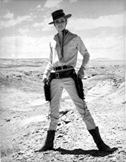 Camilla Sparv wearing a Cowboy Attire Photo Print (24 x 30)
