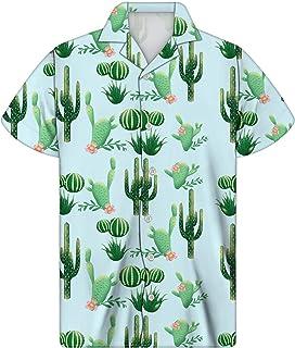 Summer Fashion Funky Hawaiian Shirt Men Clothing Trend Casual Top Tees