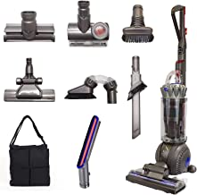 Dyson Ball (Formerly DC65) Animal + Allergy Complete Upright Vacuum with 7 Tools - HEPA Filtered - Corded (Silver 7 Tools ...