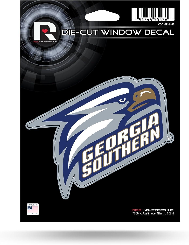 NCAA Rico Industries Die Cut Vinyl Decal, Georgia Southern Eagles , 5 x 7-inches