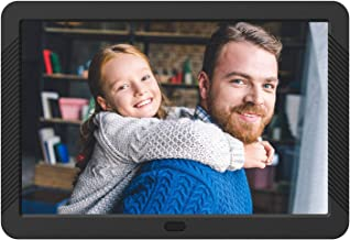 Atatat Digital Photo Frame with 1920x1080 IPS Screen, Digital Picture Frame Support Adjustable Brightness,Photo Deletion,1080P Video,Music,Slideshow,Remote,16:9 Widescreen,Support SD Card,USB (8 Inch)