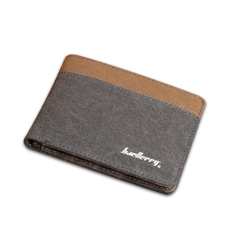 震えそっと医療過誤FANDARE 二つ折り財布 小さい財布 マネークリップ ブランド 小銭入れ ミニウォレット wallet コンパクト 人気 キャンバス