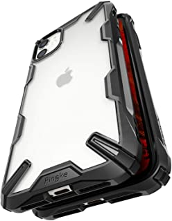 Ringke Fusion-X Designed for iPhone 11 Case Back Cover, [Military Drop Tested] Ergonomic Transparent PC Back TPU Bumper Im...