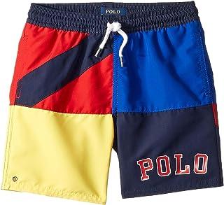 [Polo Ralph Lauren(ポロラルフローレン)] キッズ?水着?ボードショーツ?パンツ Captiva Flag Swim Trunks (Little Kids) [並行輸入品]