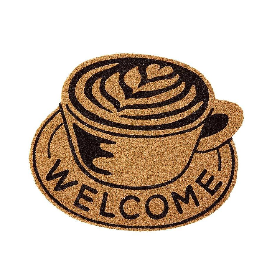 怒る北米ギャロップコイヤーマット North Side Coffeeノースサイドコーヒー コーヒーカップ大 ブラウン インターフォルム TJ-2967BN TJ-2967BN