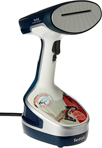 Tefal Access Steam Plus Garment Steamer, Deep Dive Blue/White, DT8100