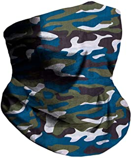 INTO THE AM Seamless Face Cover Mouth Mask Bandana Neck Gaiter Cool Lightweight