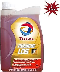 Total Fluide LDS Hydraulic Suspension Citroen C5  5x1L Litre