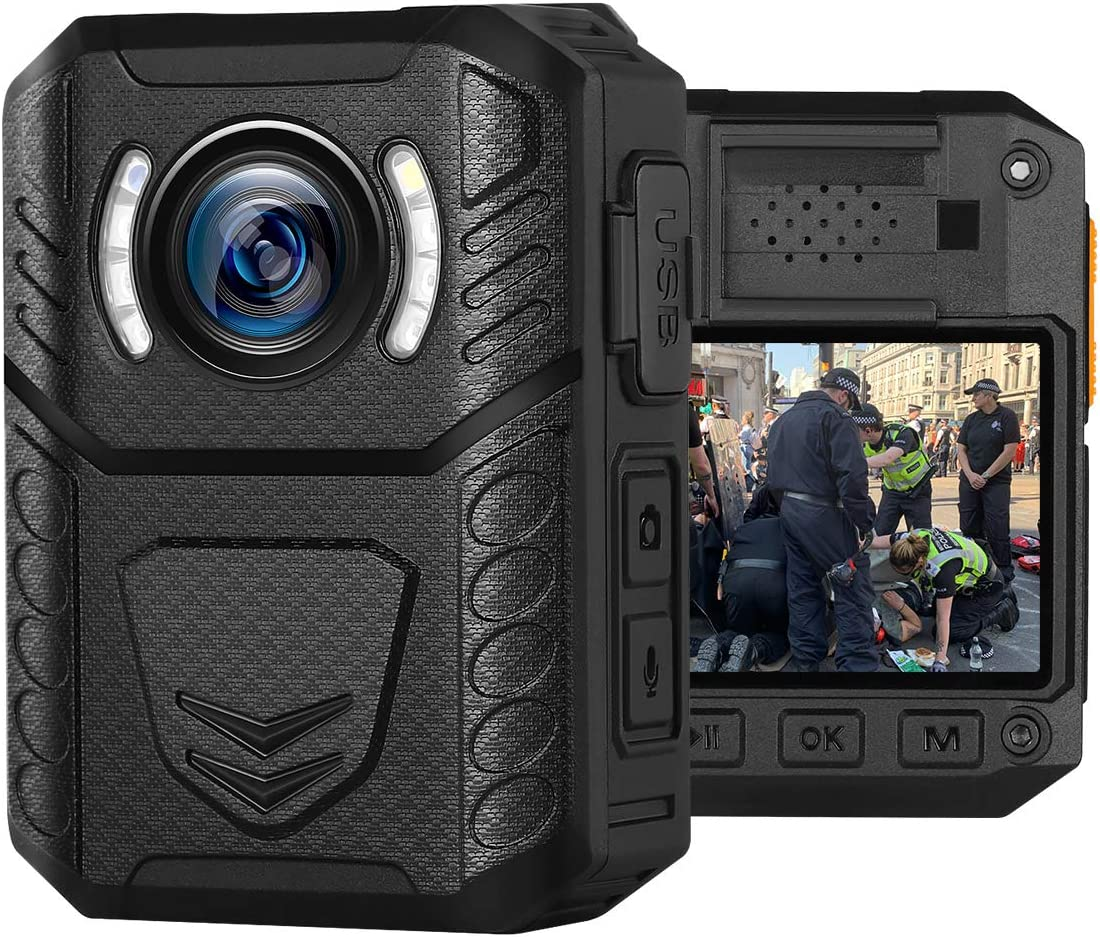 HD Recording Wearable Body Mounted Camera
