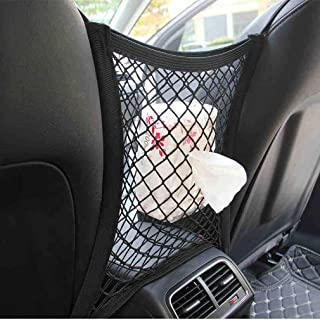 Accessoires Voiture Organisateur Voiture Trunk Net Nylon SUV Auto Cargo Stockage Mesh Support Universel for Les Voitures Bagages Nets Voyage Pocket Color Name : 60 x 25cm 1pc