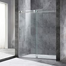 Woodbridge MBSDC6076-B Frameless Sliding Shower Door, 56