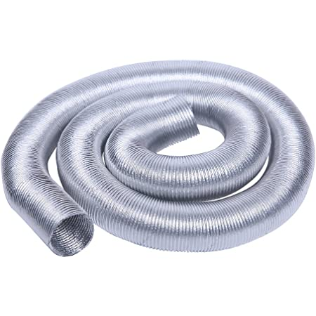 12mm-75mm Aluminized Metallic Heat Shield Sleeve Insulated Wire Hose Cover Wrap