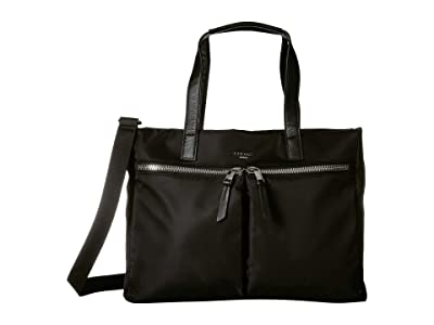 KNOMO London Mayfair Blenheim Tote (Black) Tote Handbags
