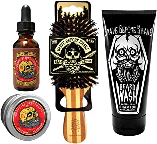 Sponsored Ad - Grave Before Shave Beard Care Pack (Cigar Vanilla Blend)