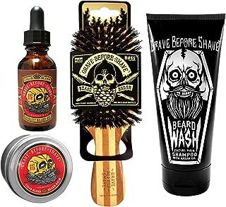 Grave Before Shave™ Beard Care Pack (Cigar Vanilla Blend)