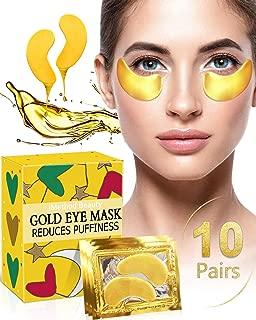 Under Eye Bags Treatment - iMethod Dark Circles Under Eye Treatment, Eye Mask For Puffy Eyes, Puffy Eyes Treatment, Under Eye Patches, Undereye Gel Pads, 10 Pairs
