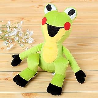 海外 絵本 キャラクター ぬいぐるみ 玩具 フィギュア ヌイグルミ 柔らか な肌当たりの 毛足 の 短い 生地 くったり 優しい モグラ の クルテク 仲間たちぬいぐるみ20cm カエル/シッティング