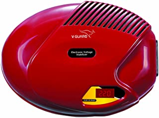 V-Guard VGSD 50 Smart Refrigerator Stabilizer with Digital Display (for up to 300 Litre Refrigerators) (Cherry Red)
