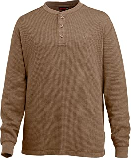 Men's Walden Long Sleeve Blended Thermal 3 Button Henley...