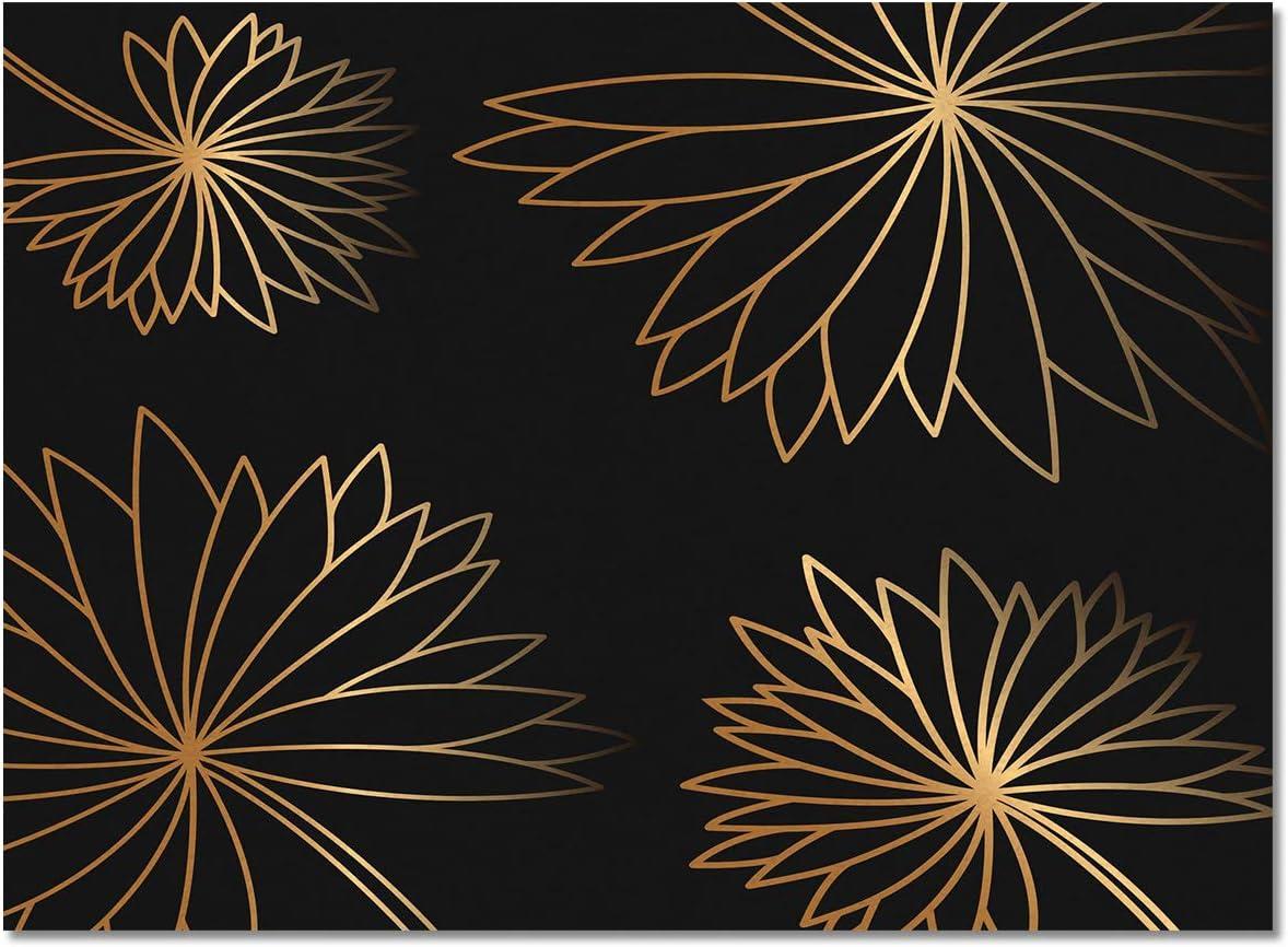 プレゼント Vandarllin Floral Pattern Area Rugs Carpet Decor Square Indoor ギフ_包装 f